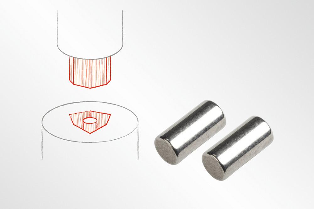Werkzeuge zum Pulverpressen