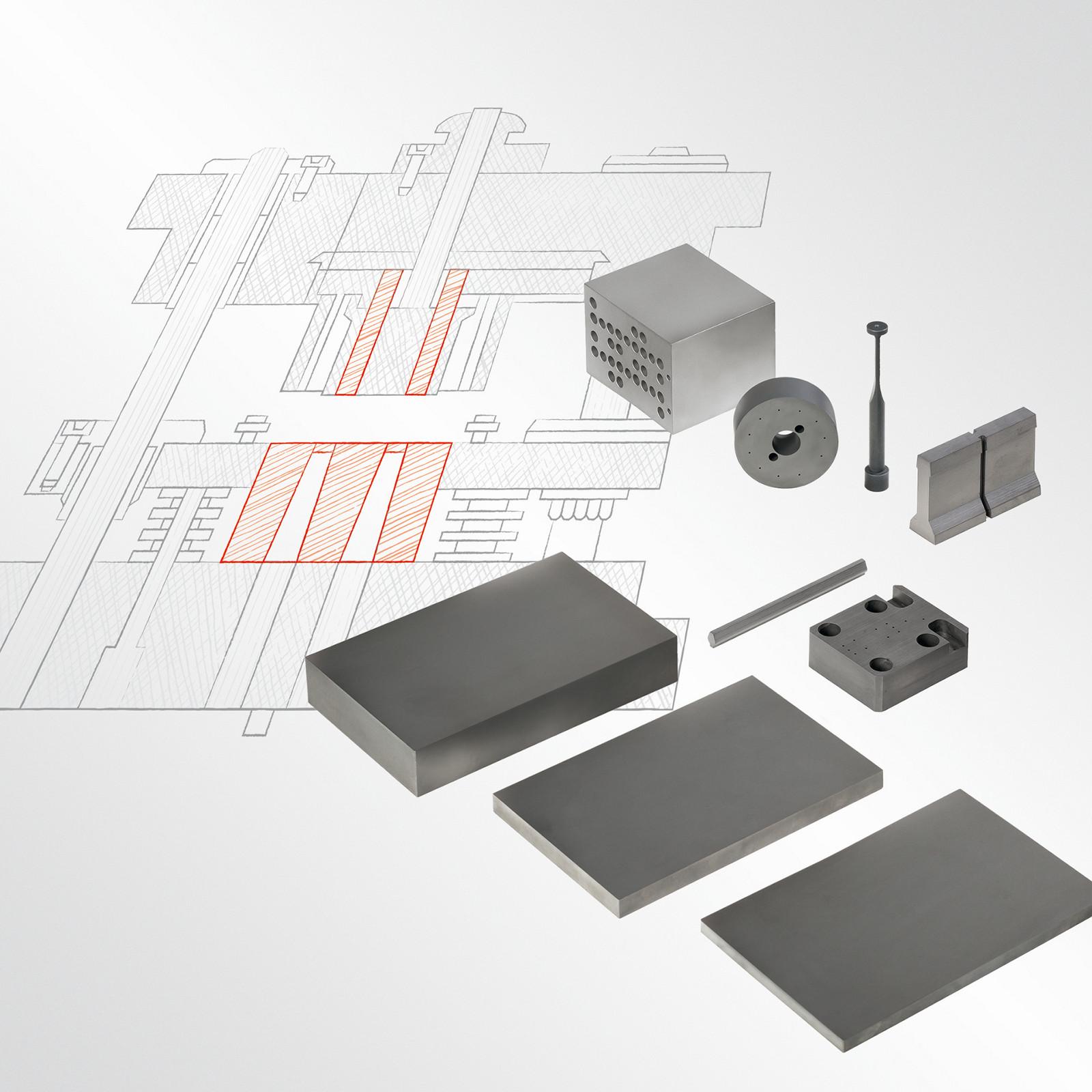 Заготовки для производства инструментов и матриц